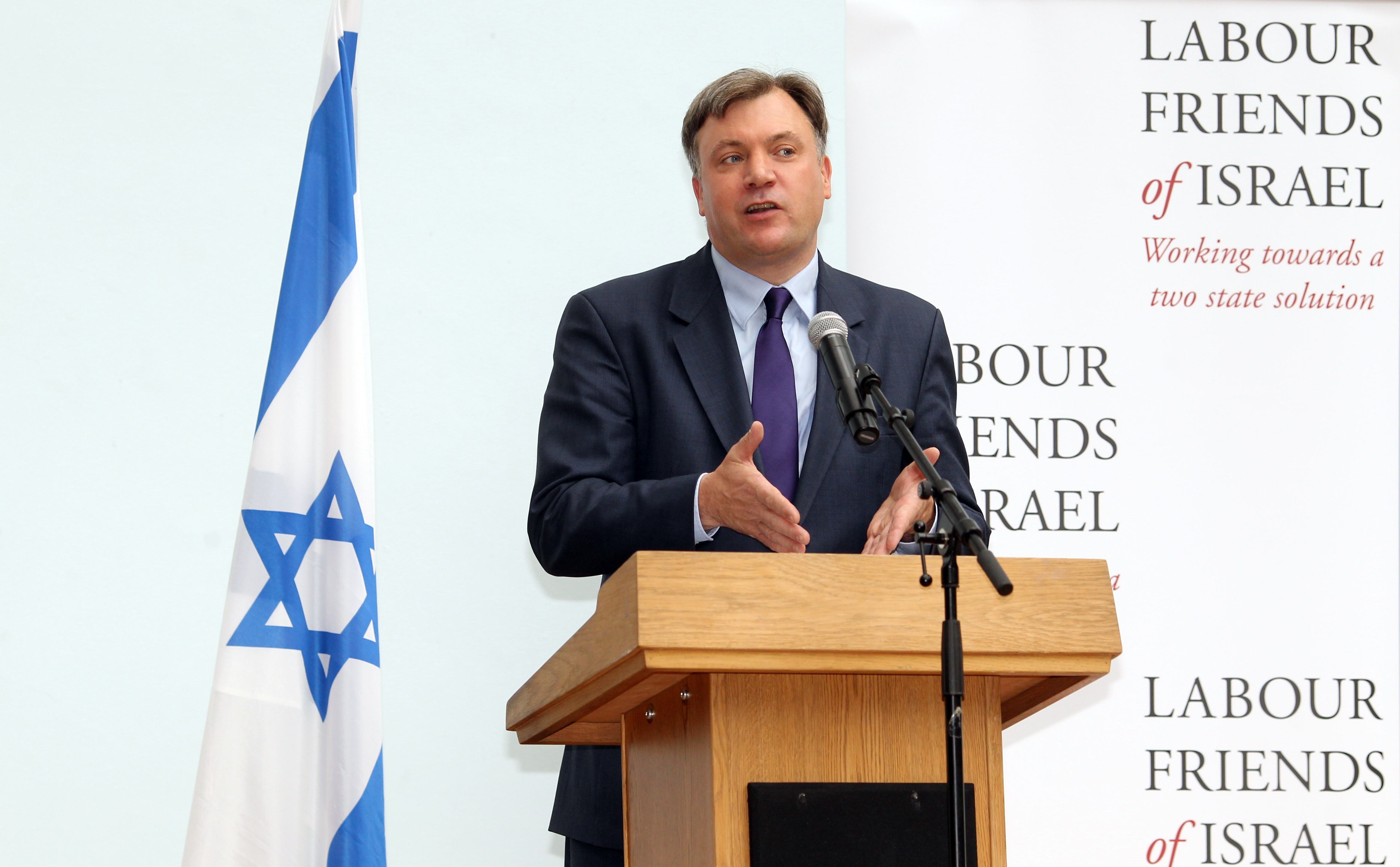 Marc Morris photo of Ed Balls MP at LFI Annual Lunch 2012